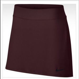 Nike Dry Golf Tennis Skirt Flat Front Back Pleated